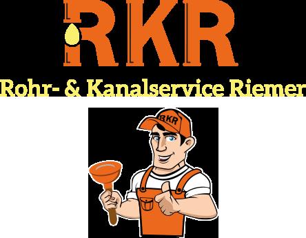 Rohr- und Kanalservice Riemer Logo Fußbereich